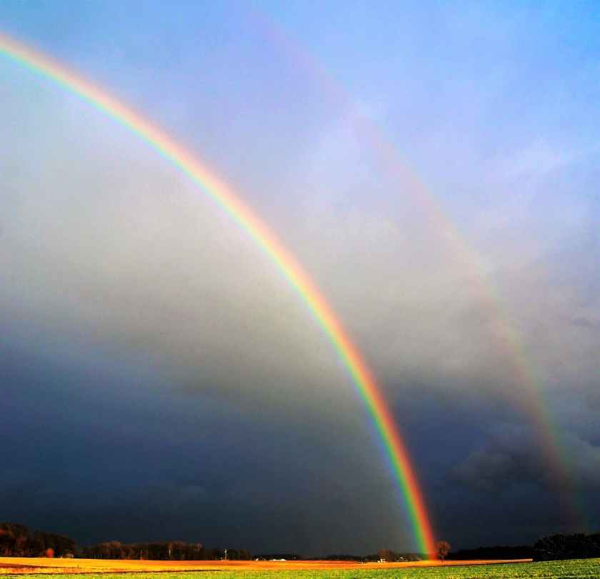"""Keep looking up...there may be a rainbow waiting for you."" quotesgram.com"